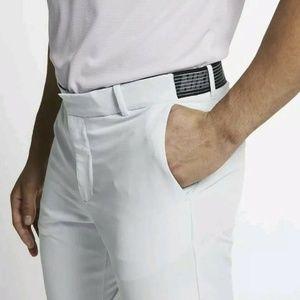 Nike Golf Flex Slim Fit Dri-Fit Golf Pants White M